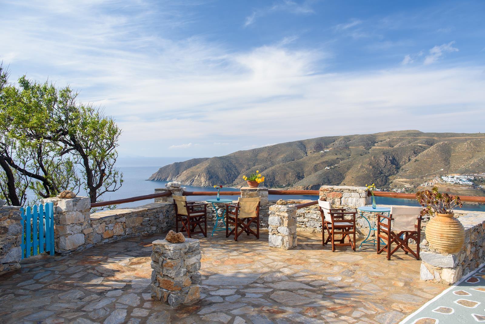 Exterior Photos   Uranos Studios   Accommodation in Amorgos